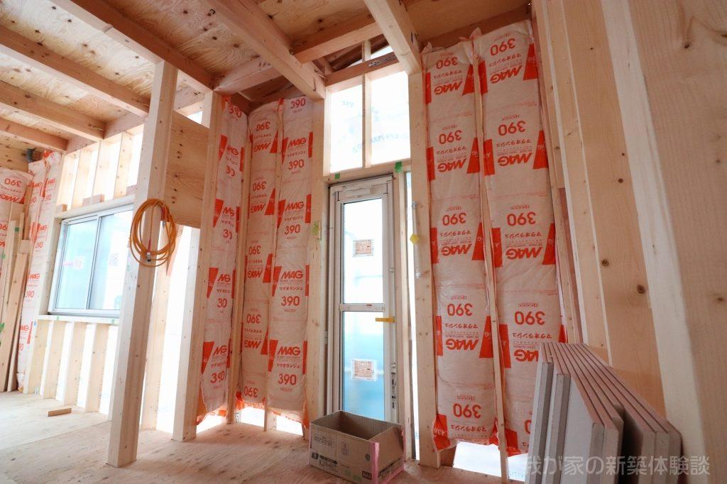 木造新築工事の台所
