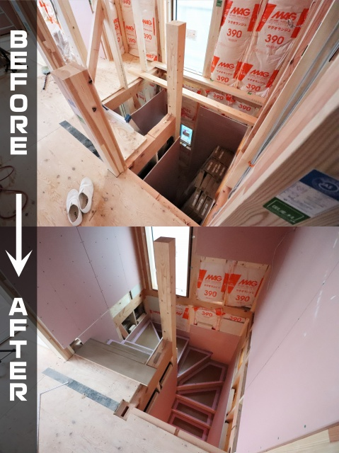 木造新築工事の内装工事