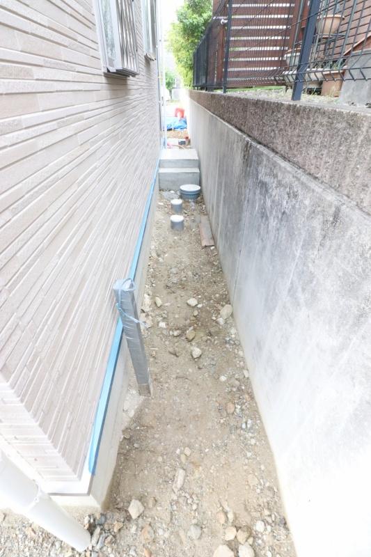 新築工事の外構工事