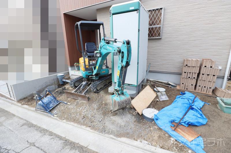 外構工事 駐車場コンクリート舗装