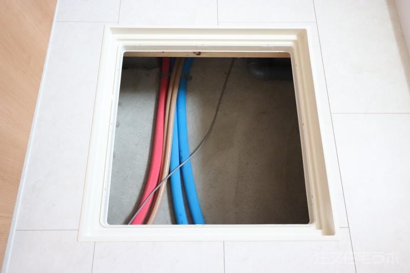 新築住宅引渡し 給排水管