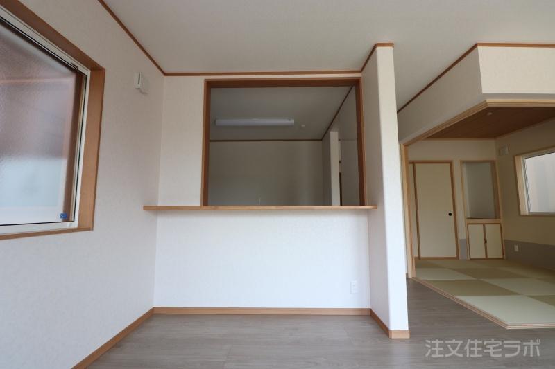 新築住宅引渡し キッチンカウンター