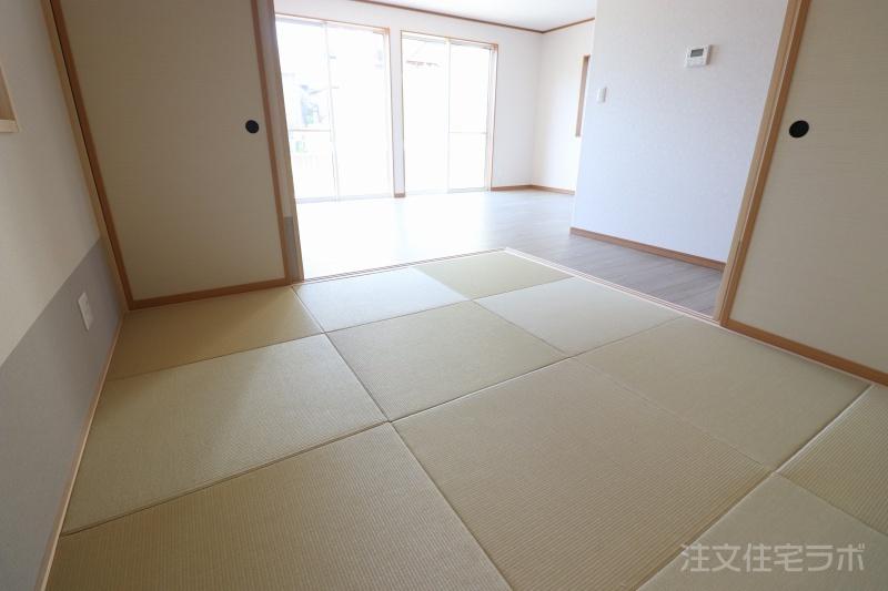 新築住宅引渡し 畳スペース