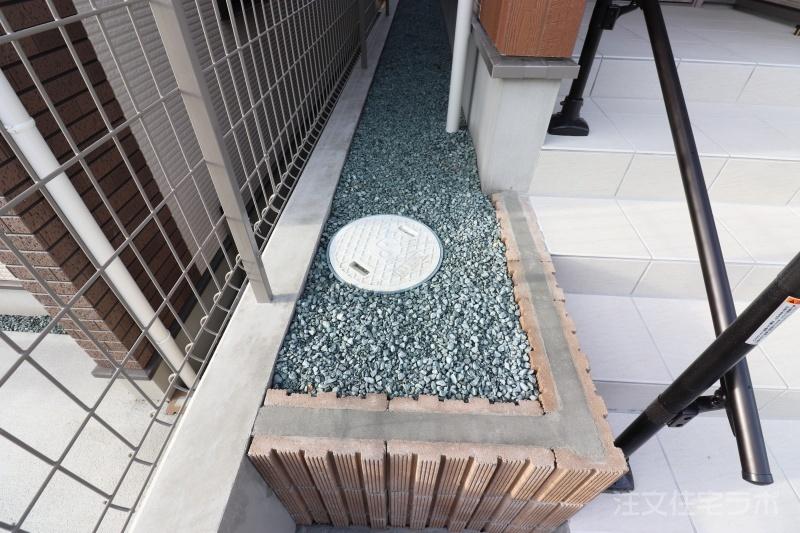 新築外構工事 フェンス取付