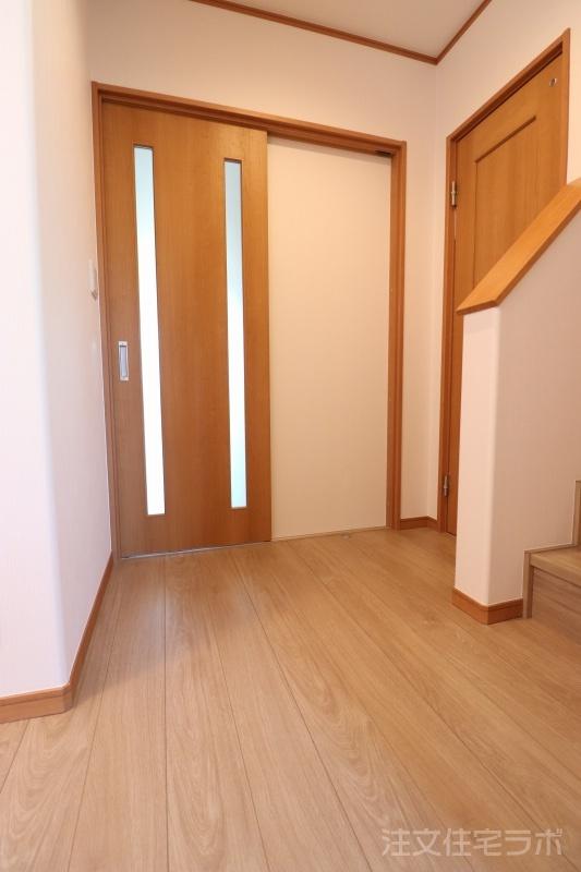 新築住宅引渡し 玄関ホール