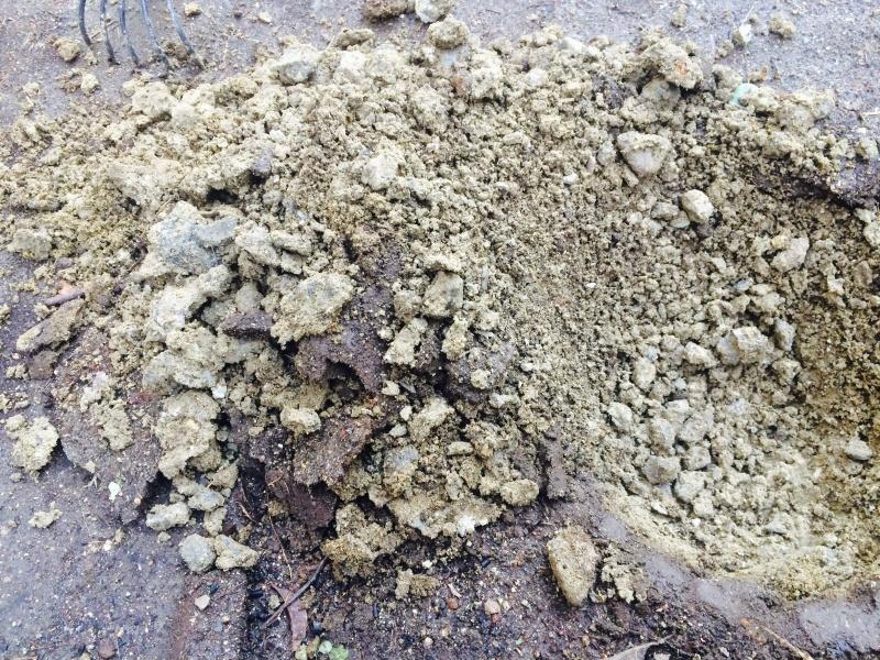 粘土質で水捌けが悪い庭のリフォーム