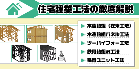 住宅建築工法の徹底解説